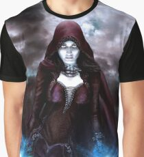 The Sorceress of the Silent Sea Graphic T-Shirt