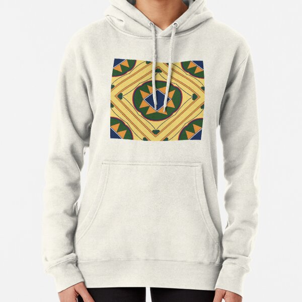 Lovely Ethnic Pattern  Pullover Hoodie