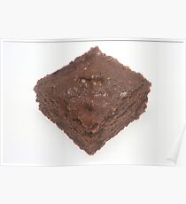 Chocolate Brownie Poster