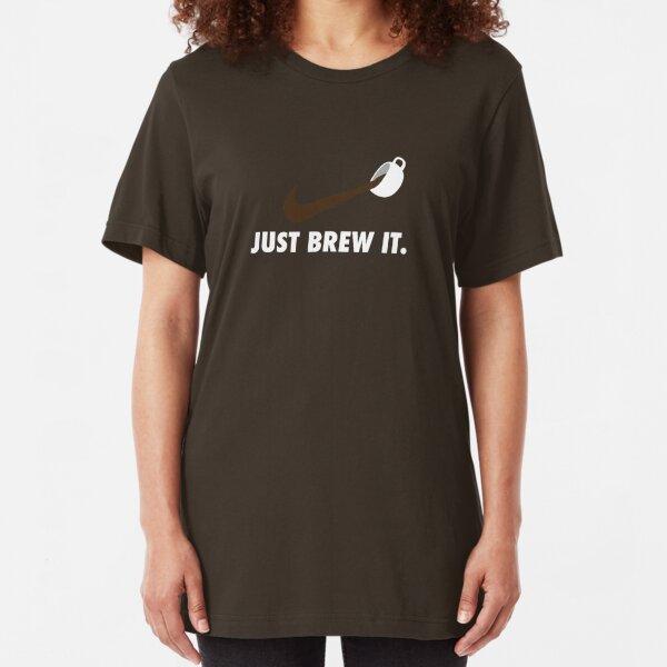 Coffee Slim Fit T-Shirt