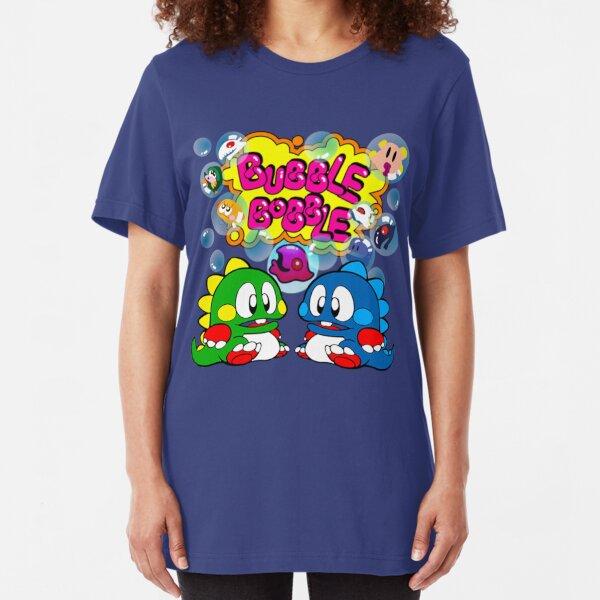 Bubble Bobble Retro Slim Fit T-Shirt