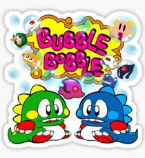 Bubble Bobble Retro Sticker