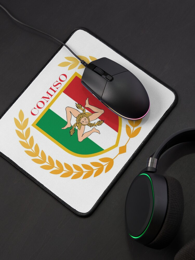 Alternate view of Comiso Sicily Italy Mouse Pad