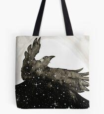 Crow of Stars Tote Bag