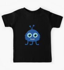 Cute and funny cartoon monster Kids Clothes