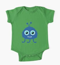 Cute and funny cartoon monster One Piece - Short Sleeve