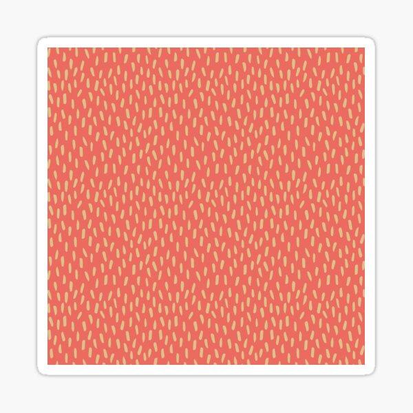 Coral Dash Sticker
