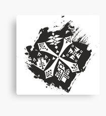 Guild Hunters Logo Splat Canvas Print