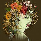 Persephone, Göttin des Frühlings von lascarlatte
