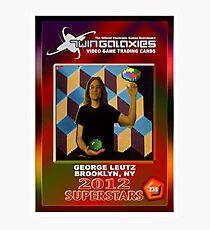 George Leutz Q*Bert Rookie Card Photographic Print