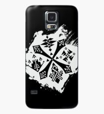 Guild Hunters Logo Splat White Case/Skin for Samsung Galaxy