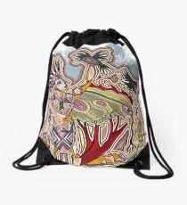 all crow Drawstring Bag