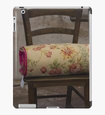 old chair iPad Case/Skin