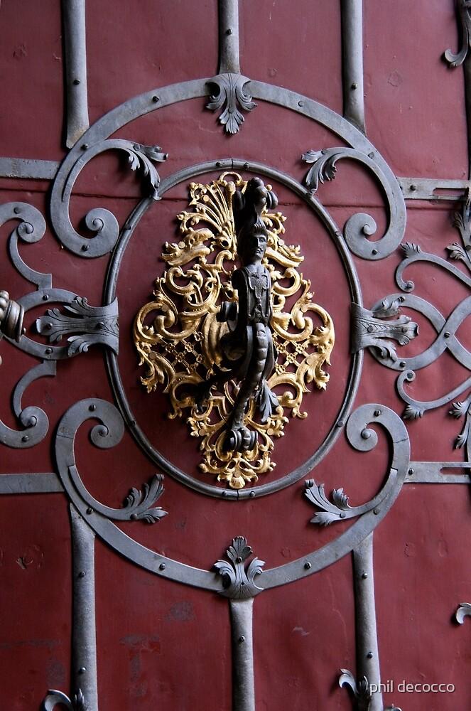 Warrior Door Knocker by phil decocco