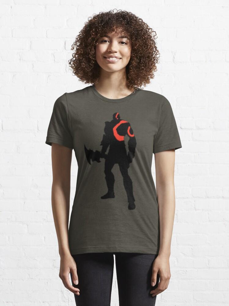 Alternate view of Kratos - The God of War Essential T-Shirt