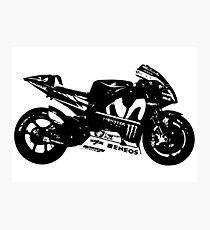 Yamaha YZR-M1 MotoGP Bike Photographic Print
