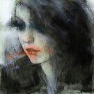 pensive girl by djones