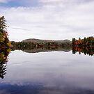 Autumn - Moose Pond by T.J. Martin