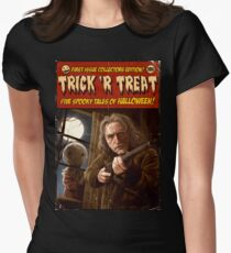 Trick 'r Creep Womens Fitted T-Shirt