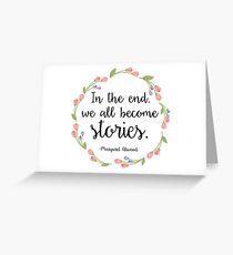 Stories Greeting Card