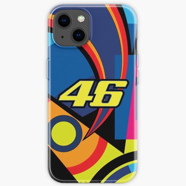 Valentino Rossi Nummer 46 Soleluna iPhone Flexible Hülle