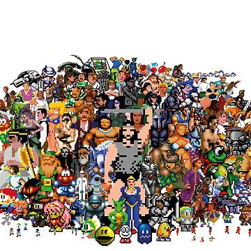 Amiga Game Characters by Chairboy