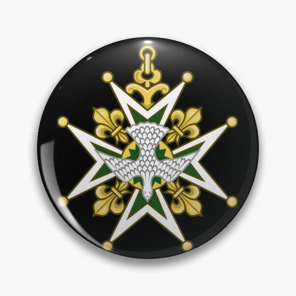 huguenot cross art Pin