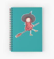 Hexe auf Reisen Spiral Notebook