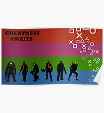 Greatness Awaits Poster