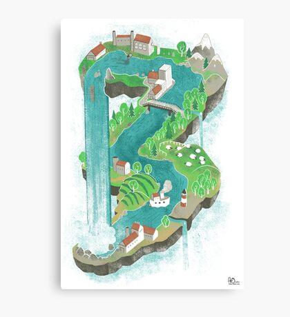 Perpetual World Canvas Print