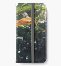 Brown Praying Mantis Sitting in the Foliage Horizontal iPhone Wallet/Case/Skin