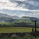Burnsall And Thorpe Fell by David Lewins