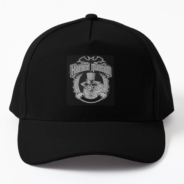 The Haunted Mansion Halloween Edward Gracey Mansion Discovered Property Evil Spirits Haunted Mansion  Hatbox Ghost! Baseball Cap