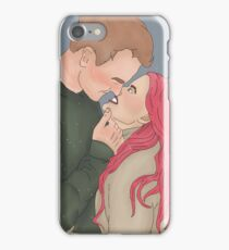 Remus and Tonks Scars iPhone Case/Skin