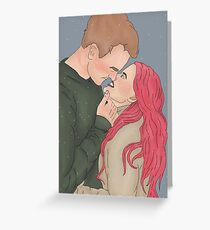 Remus and Tonks Scars Greeting Card