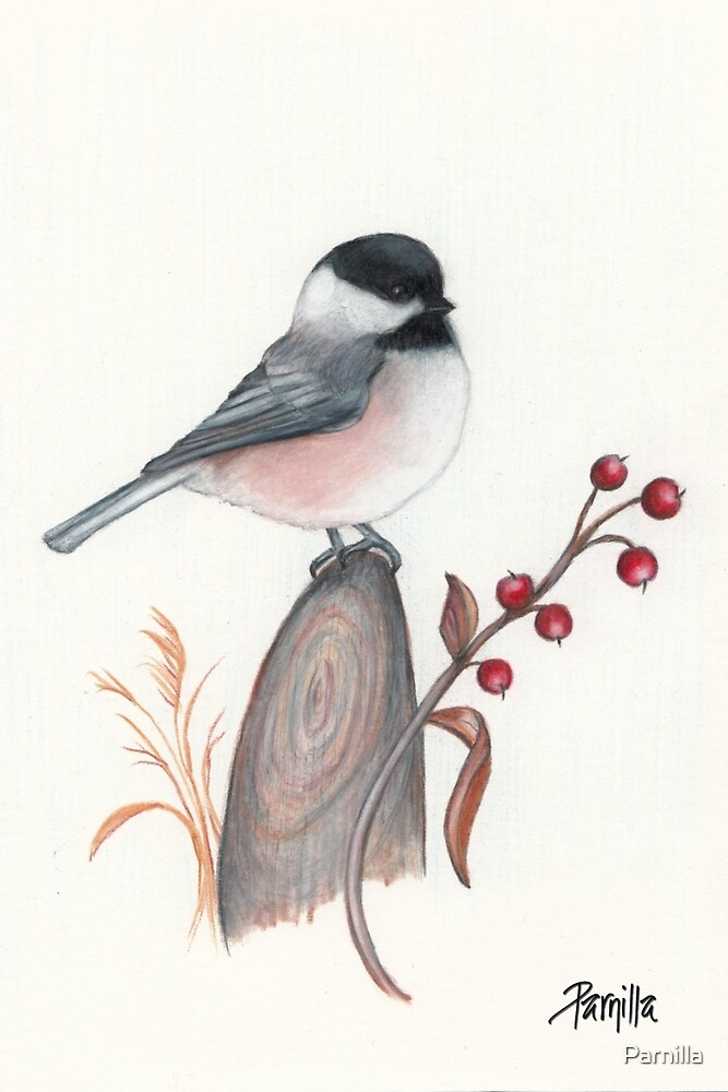 Chickadee by Parnilla