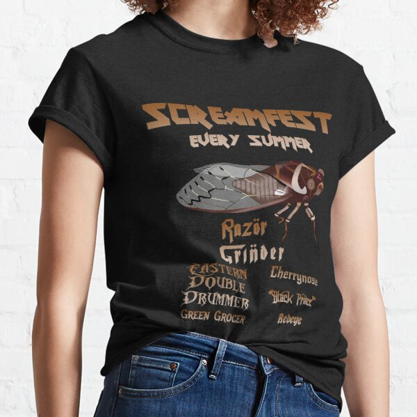 Screamfest: the Australian cicada festival Classic T-Shirt