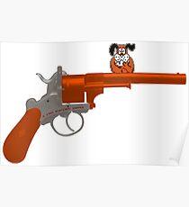 Duck Hunt gun Poster