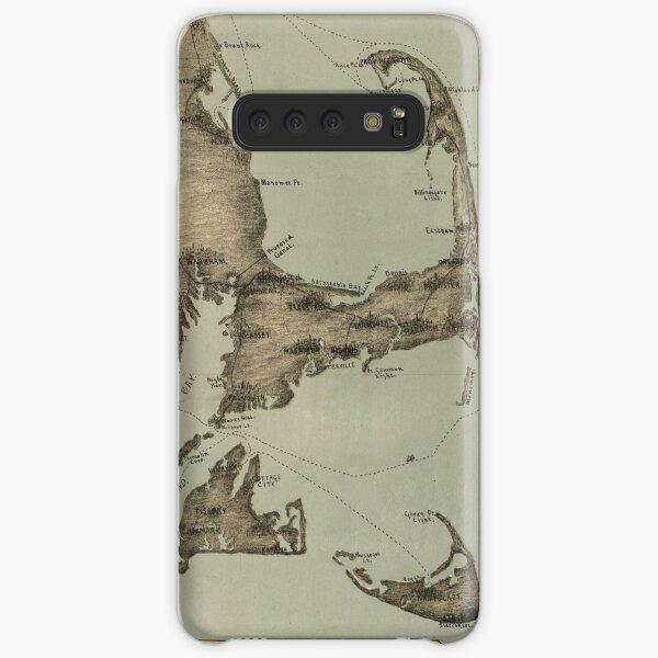 Vintage Map of Cape Cod (1885) Samsung Galaxy Snap Case
