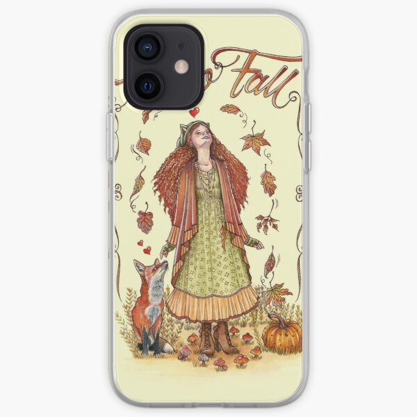 Hello Fall Funda blanda para iPhone