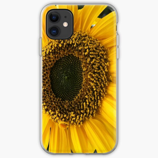 SUNFLOWER SEEDS AND PETALS iPhone Soft Case