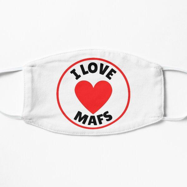 I love MAFS, fan Flat Mask