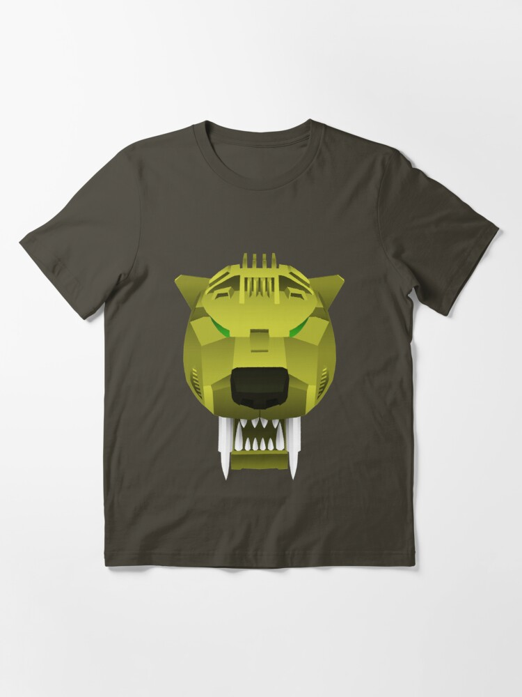 Alternate view of Saber Tiger - Fuzzy Panda Essential T-Shirt