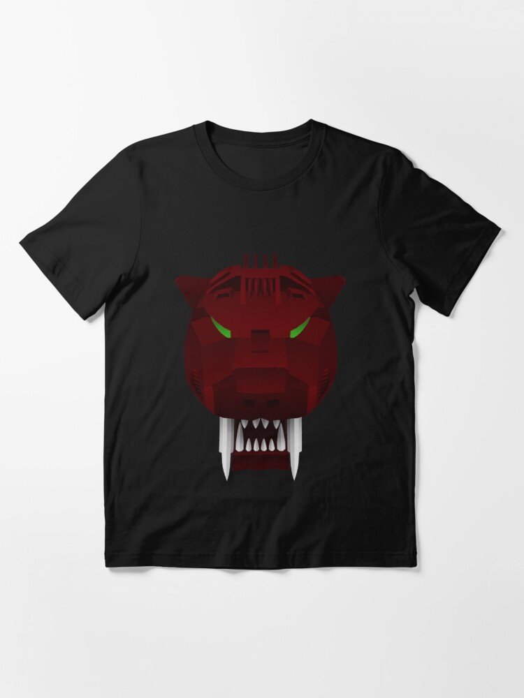 Alternate view of Saber Tiger - Raven Ver. Essential T-Shirt