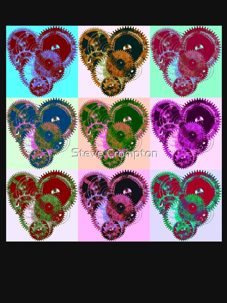 Steampunk 'Pop-Heart' Pop Art by SC001