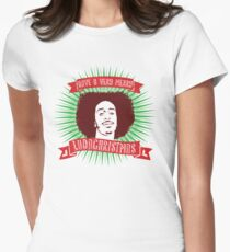 Very Merry Ludachristmas Women's Fitted T-Shirt