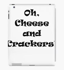 Cheese and Crackers! iPad Case/Skin