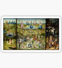 Hieronymus Bosch - Garden of Earthly Delights Sticker
