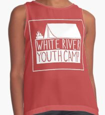 WRYC tent design (Red and White) Contrast Tank