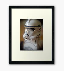 Clone Trooper Framed Print